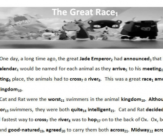 Myth of the Chinese Zodiac - The Great Race