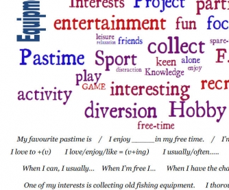 IELTS Speaking Topic / Hobbies