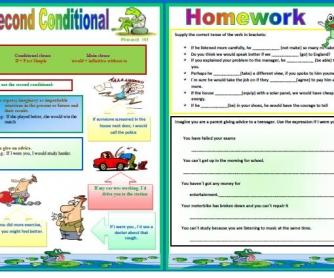 Second Conditional Worksheet II