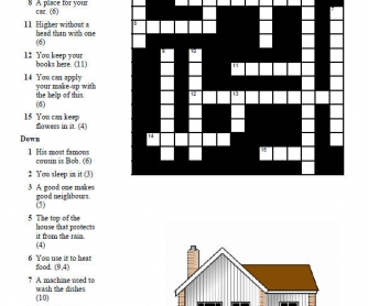 Your House: Crossword