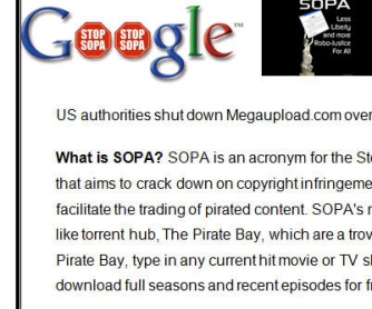 Breaking News: SOPA
