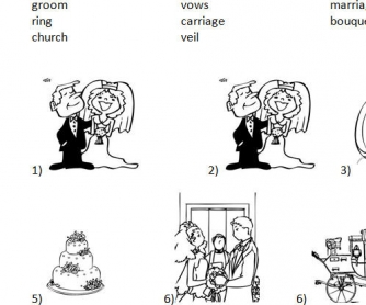 Wedding Vocab and Discussion
