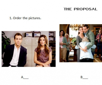 Movie Worksheet: The Proposal