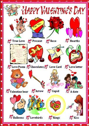 St Valentine 39 s Day Classroom Poster