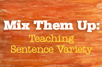 Mix Them Up: Teaching Sentence Variety
