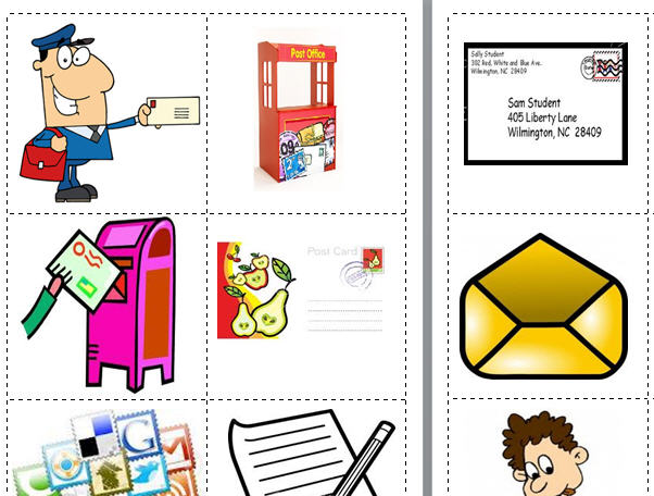 Post Office Flashcards