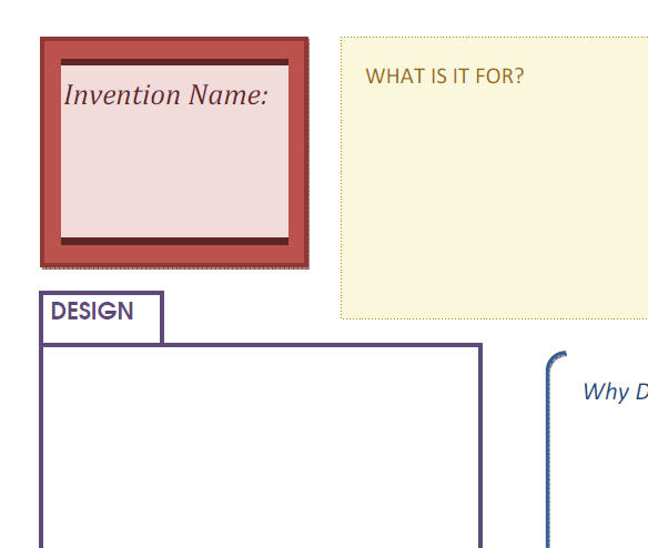 Your Own Invention [TEMPLATE]