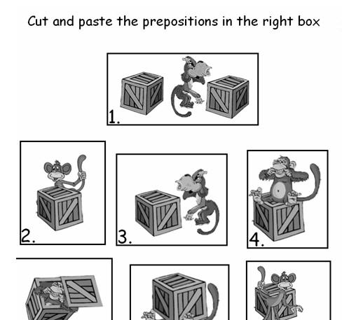 Where's The Monkey? Prepositions Of Place
