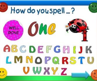 Cardinal Numbers Spelling Game