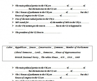 Politics Worksheet