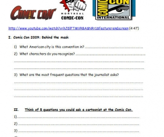 The World of Comics: The Comic Con WITH ANSWERS