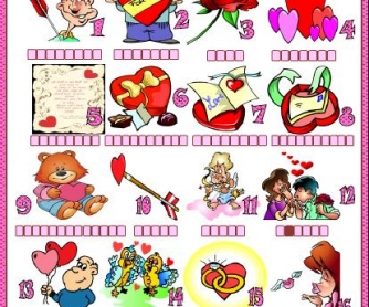St. Valentine's Day Matching Activity