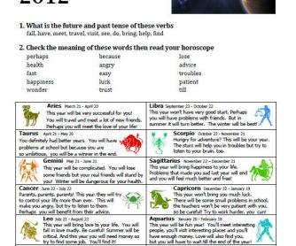 Great Horoscope For 2012