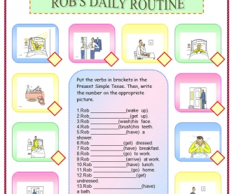 Rob's Daily Routine
