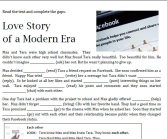 Love Story Of A Modern Era