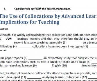 Collocations In Context 1