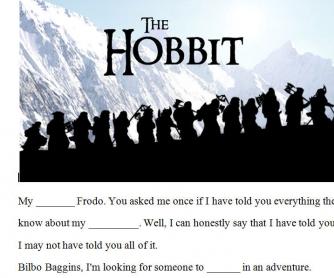 Movie Worksheet: The Hobbit Trailer