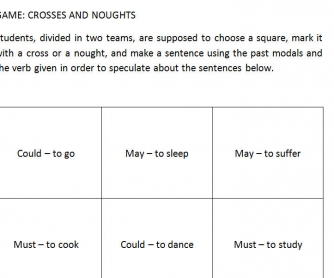 Modal Noughts And Crosses