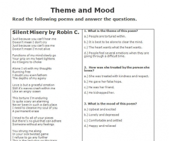 Theme and Mood