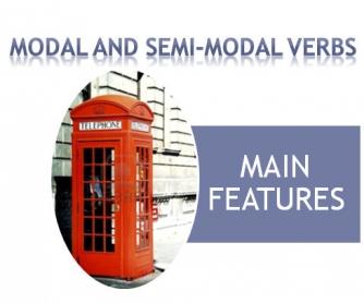 Modal and Semi-Modal Verbs Part One