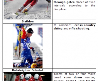 Winter Olympics Sports [with VIDEO examples]