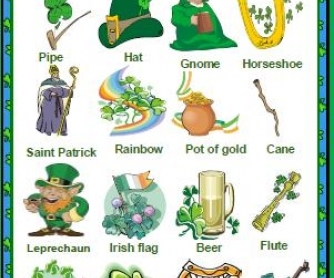 St. Patrick's Day Classroom Poster