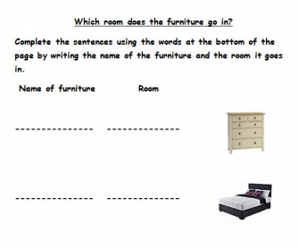 Which Room Does the Furniture Go In?
