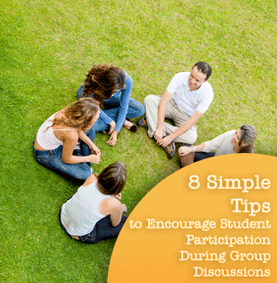 8 Simple Tips to Encourage Student Participation During Group Discussions
