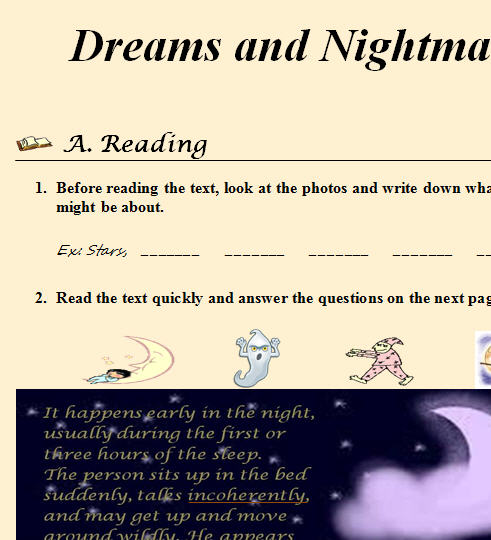 dreams and dreaming nightmares in children essay These free creative writing prompts on dreams will dream classes and there even those who teach lucid dreaming so that you can craft your dreams at essay.