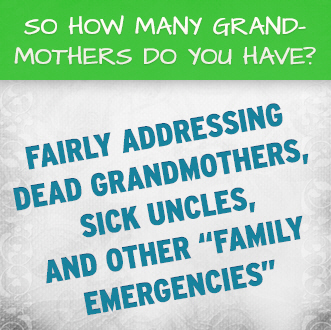 "So How Many Grandmothers Do You Have?: Fairly Addressing Dead Grandmothers, Sick Uncles, and Other ""Family Emergencies"""