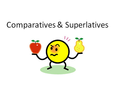 Comparatives and Superlatives Powerpoint Intro