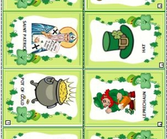 Saint Patrick's Day Mini-Book