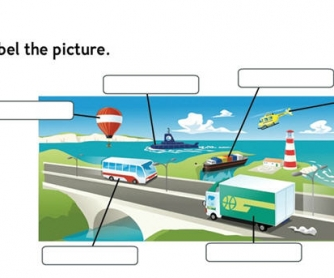 Transport Vocabulary Worksheet