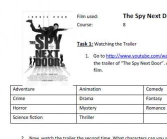 Movie Worksheet: The Spy Next Door