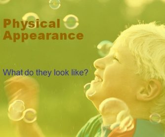 What Do They Look Like? Physical Appearance Worksheet