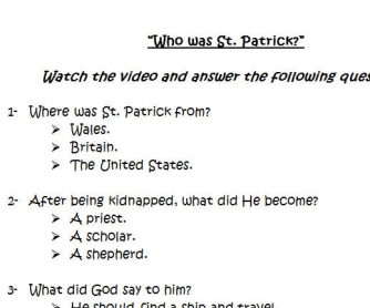 8 things You Should Know About Saint Patrick