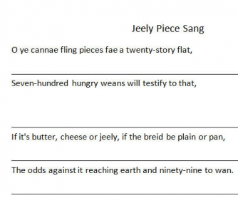 The 'Jeely Piece' Song