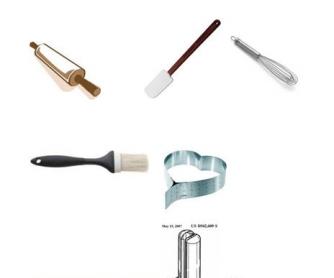 Cooking Worksheet: Pastry Tools