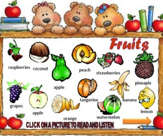 Fruits PowerPoint Presentation