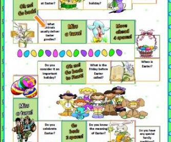 Easter Boardgame