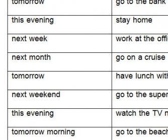 Daily Life Arrangements: Present Continuous Worksheet