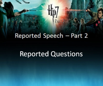 Reported Questions [Presentation]