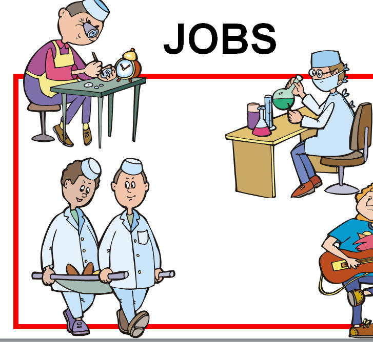 Jobs and Professions Powerpoint