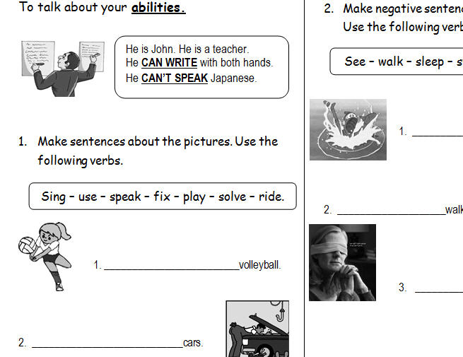 auxiliary verbs exercises with answers pdf
