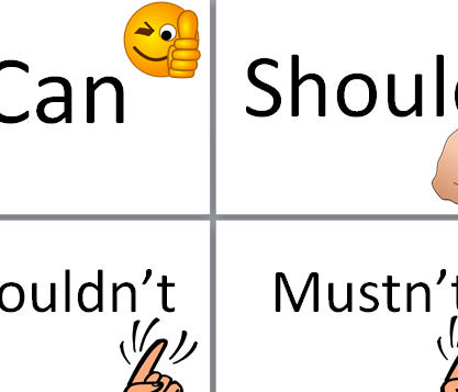 Modal Verbs Flashcards