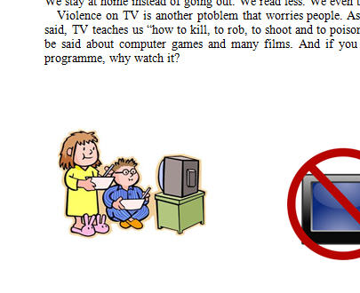 television essay advantages disadvantages