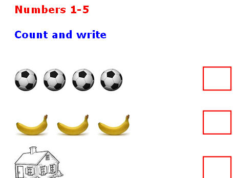 Count The Numbers Count To Ten: Classroom Poster I Can Count To Ten!