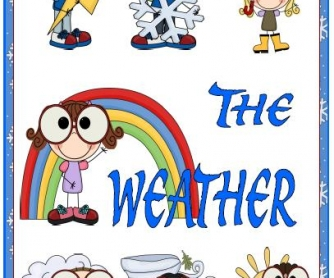 The Weather Flashcards