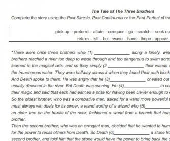 The Tale Of The Three Brothers [Harry Potter]