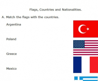 Flags, Countries And Nationalities
